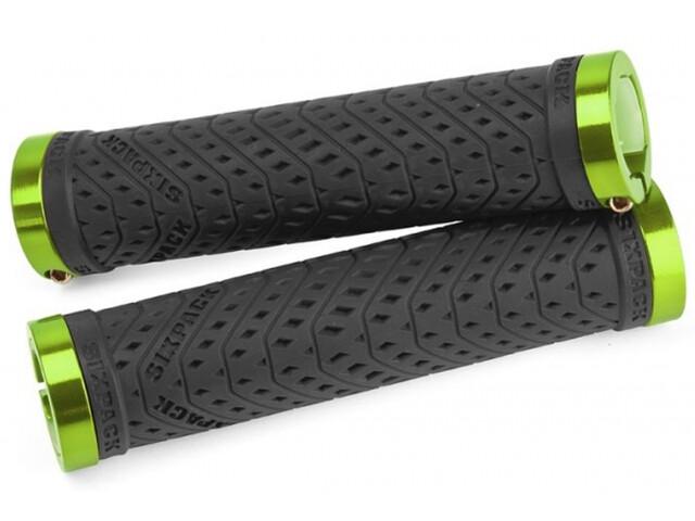 Sixpack K-Trix Lock-On Griffe schwarz/electric grün